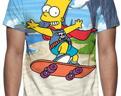 Camiseta Bart Simpson - Estampa Total