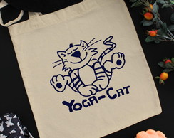 ECOBAG YOGA CAT