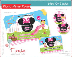 Mini Kit Digital Parquinho Minnie