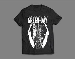 Camiseta Masculina Green Day Revolution Radio #2