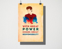 Poster A3 Spider man