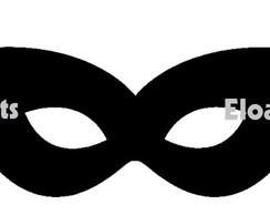 Mascara Batman E Batgirl Elo7