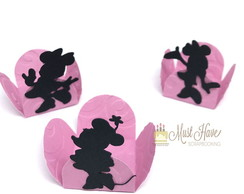 Kit 10 forminhas Minnie Rosa