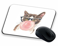 MOUSEPAD GATO CHICLETE