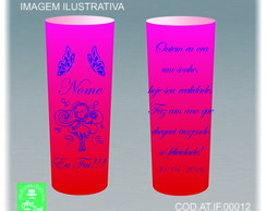 KIT 50 Copos Long Drink 350ml Personalizado