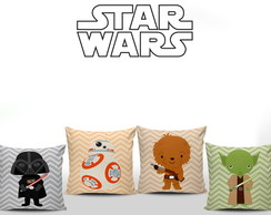 Almofadas Decorativas Star Wars Baby 4un