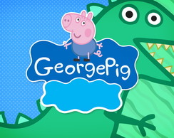Painel 1x0,70 George Pig
