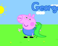 Painel 1x0,65 George Pig