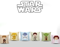 Kit 6 Almofadas Star Wars Baby
