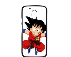 Capa para Celular Dragon Ball Goku Moto G4 Play
