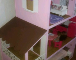 Casa da Barbie Mobiliada e Decorada