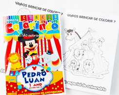 Revista Circo do Mickey personalizada