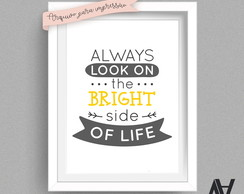 Poster Digital A3 - Always look on the bright side of life