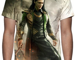 Camiseta Thor Mundo Sombrio - Loki - Estampa Total