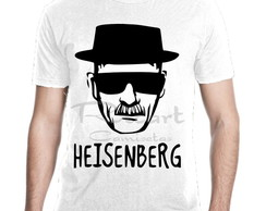 Camiseta Breaking Bad Heisenberg Serie Mod 01