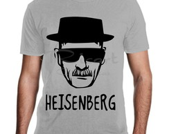 Camiseta Breaking Bad Heisenberg Serie Mod 01A