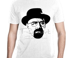 Camiseta Breaking Bad Heisenberg Serie Mod 02