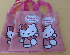 Bolsinha Hello Kitty Rosa