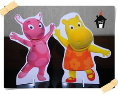KIT DISPLAY DE CHÃO PARA FESTA INFANTIL BACKYARDIGANS 5