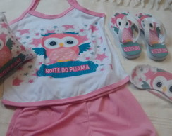 Kit noite e festa do pijama