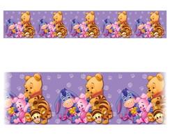 Adesivo Decorativo De Porta Desenho Ursinho Pooh Colorido Elo7