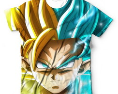 Camisa Camiseta Dragon Ball Super Goku Ssj 2 3 Super
