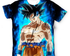 Camisa Camiseta Blusa Dragon Ball Super Goku