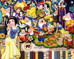 Kit Scrap Digital - Branca de Neve