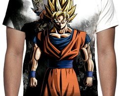 Camiseta Game Dragon Ball Xenoverse 2 Estampa Total