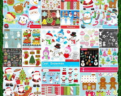 183 Kits Scrapbook Digital Natal - O Mais Completo