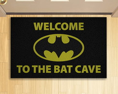 Tapete Capacho Batman Welcome