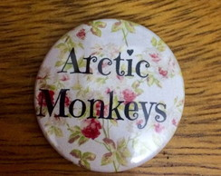 Botton Arctic Monkeys Flores