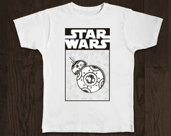Camiseta Geek - Star Wars
