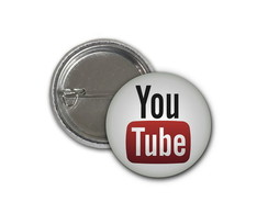 Botton Youtube - 2,5cm