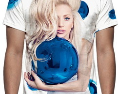Camiseta Lady Gaga Mod 05 - Estampa Total