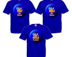 Kit 3 Camisetas Personalizadas Dragon Ball Z