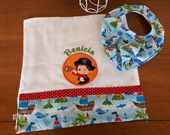 Kit Babador Bandana - Pirata