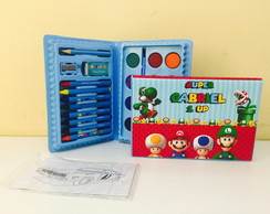 kit de colorir Mario bros