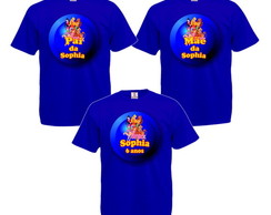 Kit 3 Camisetas Personalizadas Winx Club
