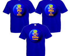 Kit 3 Camisetas Personalizadas Os Backyardigans
