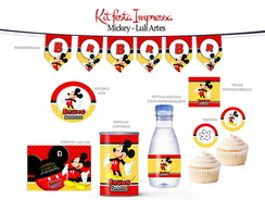 Kit Festa Impressa Mickey