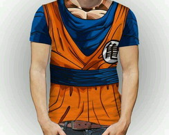 Camiseta Fullart dragon ball Super Goku