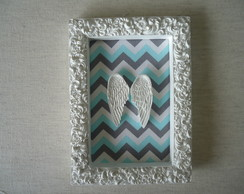 Molduras Decorativas com Chevron