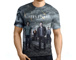 Camisa, Camiseta Supernatural 1