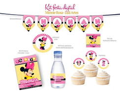 Kit Festa Impressa Minnie