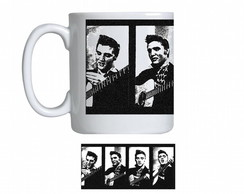 Caneca de Porcelana elvis rei do rock 2