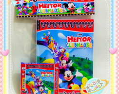 kit de colorir Mickey Club House