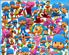 Kit Scrapbook Digital Pocoyo