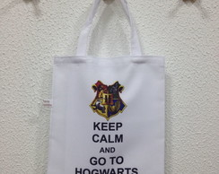 Sacola Eco bag Personalizada Harry Potter