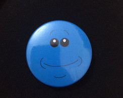 Botton Mr. Meeseeks Face